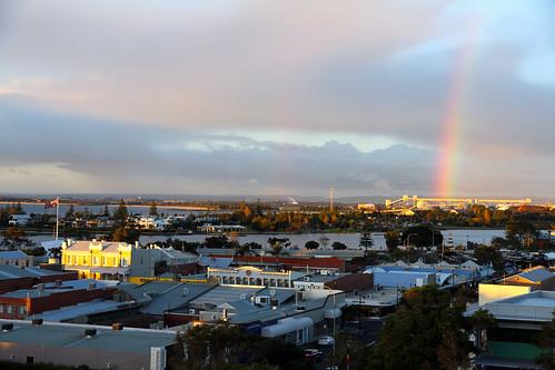 Afternoon Rainbow in Bunno