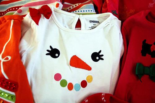 Snowman-shirt
