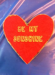 "Ann Arbor Mini Maker Faire 2013: ""Be My Sunshine"" Heart Box"