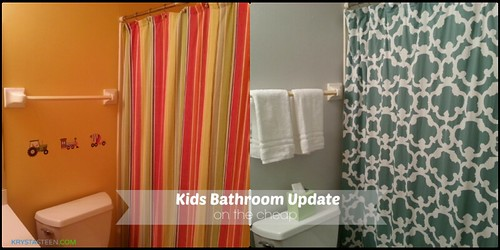 Bathroom Update on the Cheap from Krysta Steen.