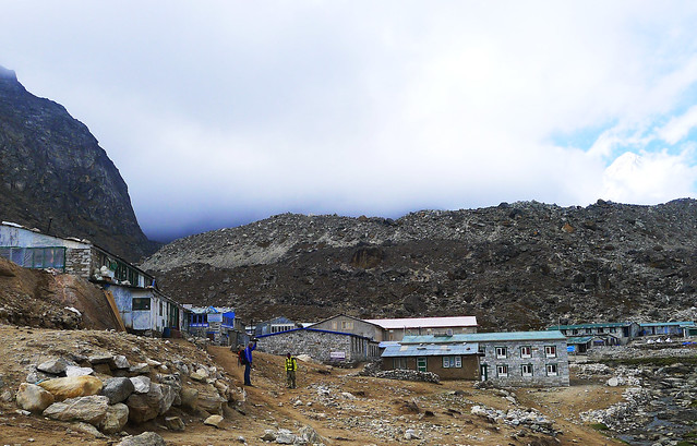 Everest Base Camp Trek: arriving at Lobuche