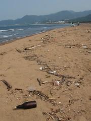 清不完的沙灘垃圾