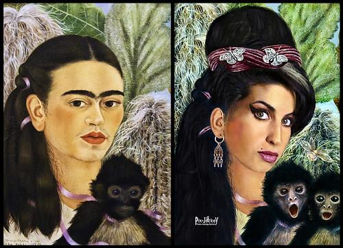 Before After Kahlo