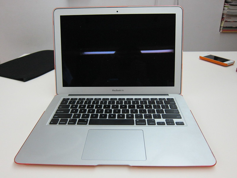 Speck SeeThru for MacBook Air 13 Inch - With MacBook Air Opened