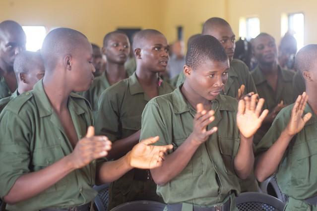 Lord Kenya & Miss Ghana 2013 finalists Mentor Borstal inmates