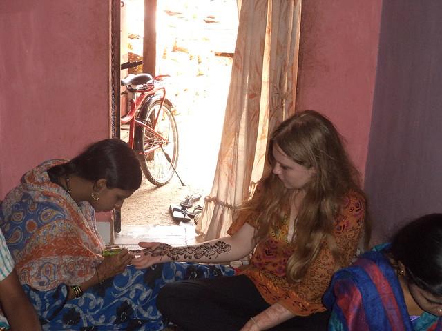 Volunteering on Community Projects in India