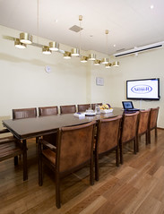 Johtokunnan huone / The board meeting room