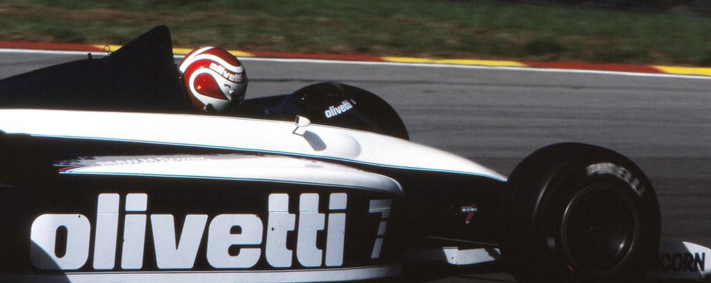1985 Nelson Piquet - Brabham BT54/BMW
