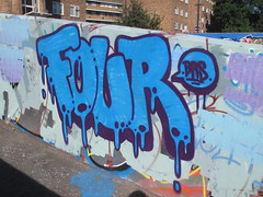 Stockwell graffiti Four