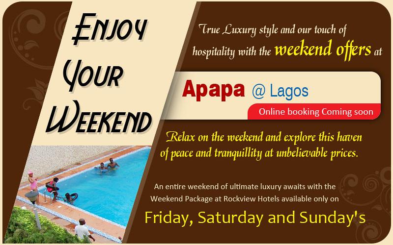 Weekend fares