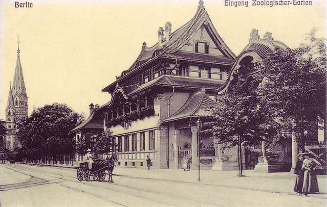 Берлинский Зоопарк 1900