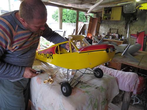 Repaginação de um Piper J-3 para um Neiva P56 C Paulistinha  9477795093_f9503eda39