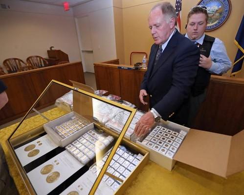 Walter Samaszko gold coin hoard