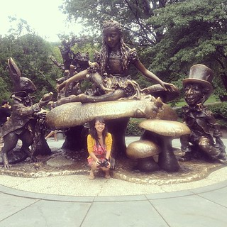 Found it! #aliceinwonderland #centralpark #nyc