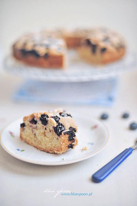 sprawdzone ciasto z owocami - przepis i zdjęcia blue spoon