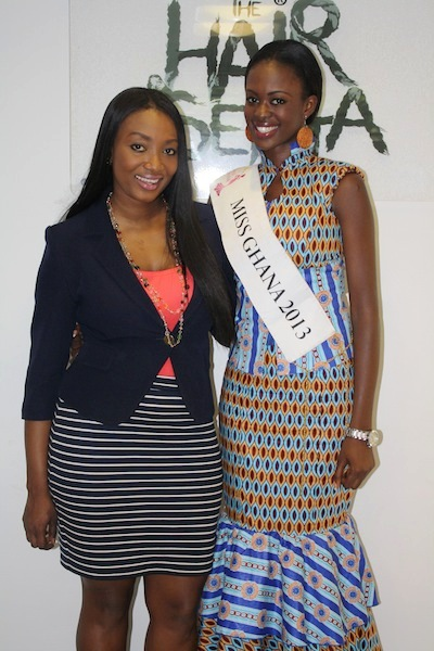 Miss Ghana 2013 winners visit Hair Senta (9)