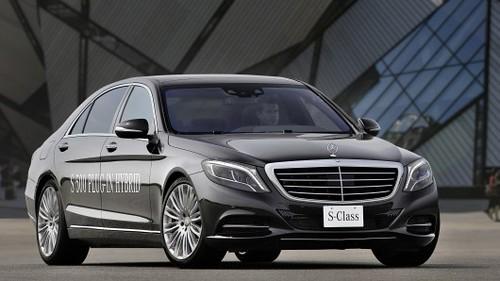 Mercedes S 500 стал подключаемым гибридом