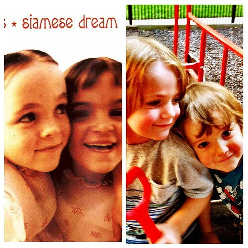 Sometimes I feel like I've known those faces since 1993... #favoritechildhoodalbum #albumcover #siamesedreamis20yearsold!