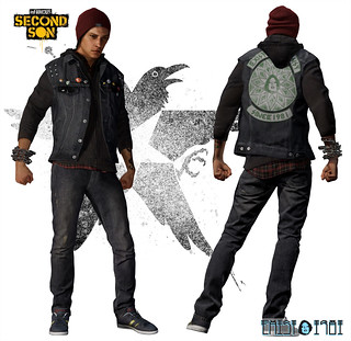 inFAMOUS Second Son: EXIST Vest
