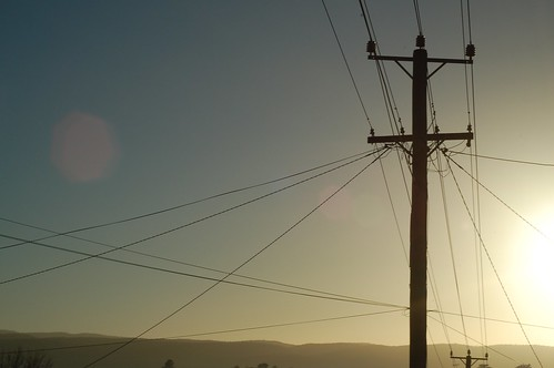 morning lines sunrise pole telegraph abcopen:project=top3