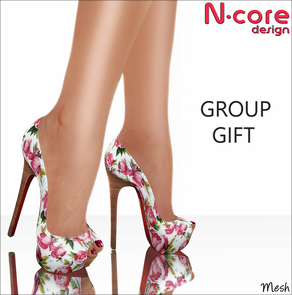 "N-core New Group Gift! CUORE ""Pink Floral"""