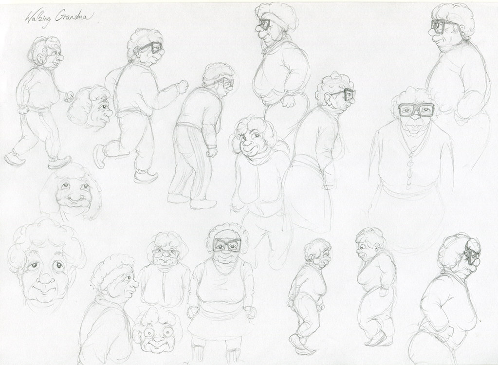 OldLady_walk_sketches