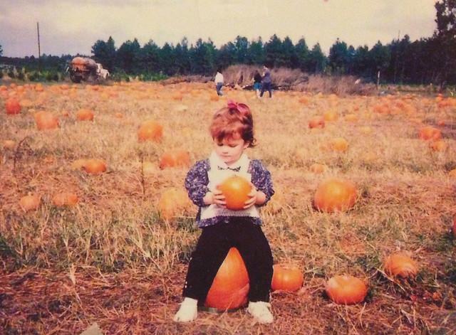 me + pumpkins