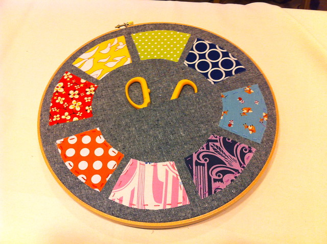 Embroidered Pocket Hoop