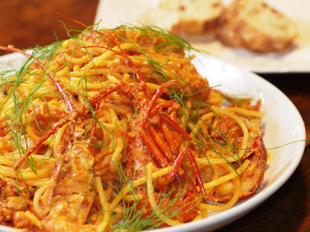 Pasta with BOSHU Shrimp and Creamy Tomato Sauce