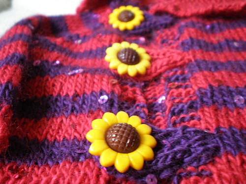 Sunflower Buttons