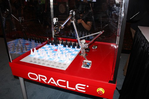 Oracle demo Java ME 8 robot arm (again)