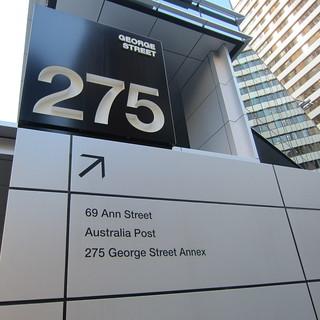 69 Ann Streetのビルへ!