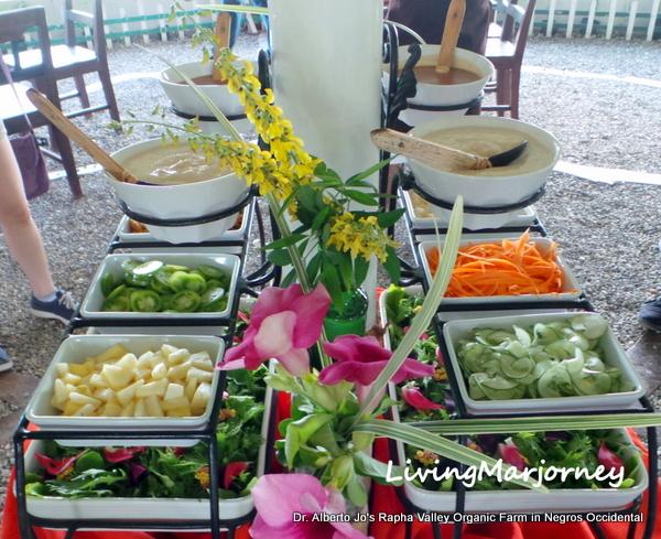 Green Salad at Rapha Valley Restaurant