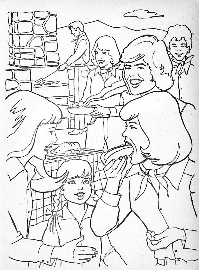 Retrospace Vintage Scan 27 Donny Marie Coloring Book 1977