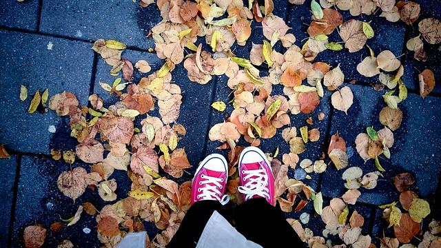 Feet + fall