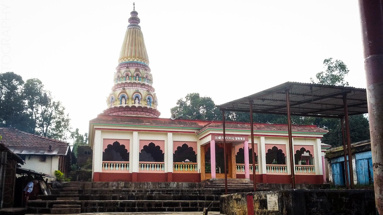 Temple at Bamnoli