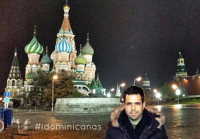 Daniel SantaCruz en Russia