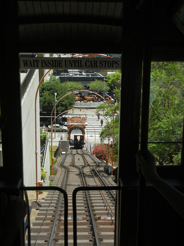 DSCN8809 _ Funicular Car, Downtown Los  Angeles