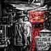 Barongsai Street Performer by canonian_eos