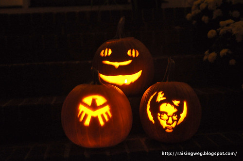 G and E's pumpkins