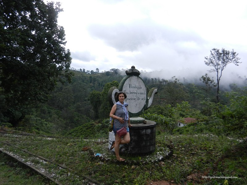 Прогуливаясь в горах Шли Ланки