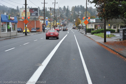 New bike lanes SE Stark-19