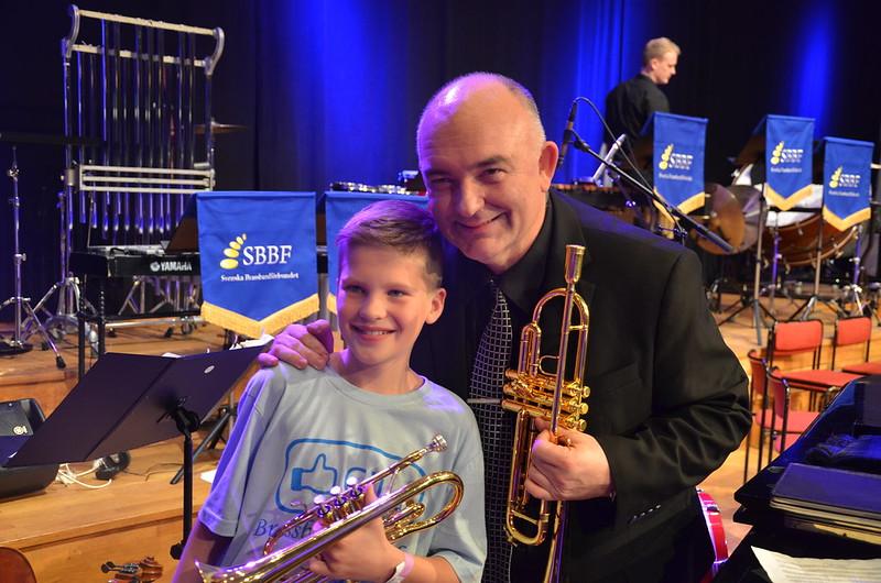 Brassbandfestivalen 2013 - En stjärna föds? (Foto: Olof Forsberg)