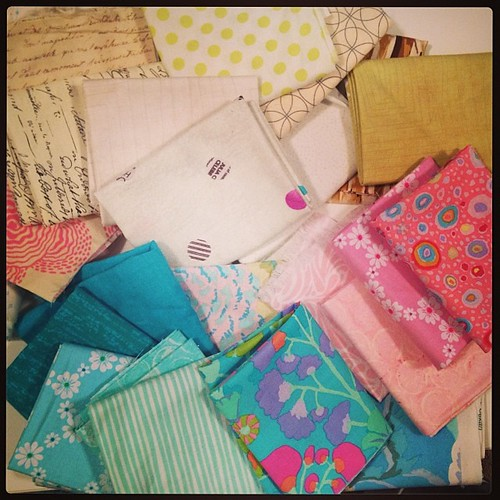After looking through my scraps, I have everything I need! #quiltsbyChristmas