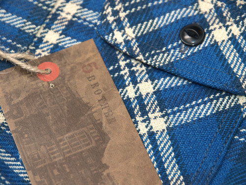 Five Brother / U.S. Heavy Flannel Shirt