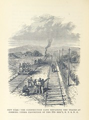 """British Library digitised image from page 438 of """"Pen and Pencil Sketches of the Great Riots. An illustrated history of the Railroad and other great American Riots, etc"""""""