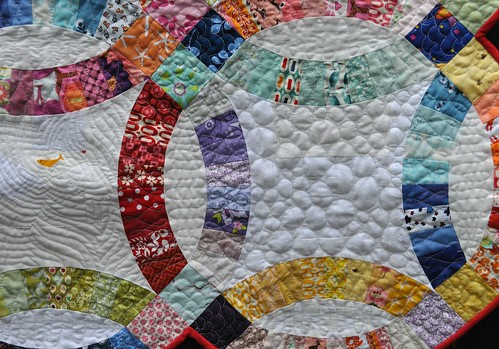 scrap dwr pebble quilting