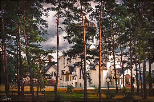 Image of a Belarusian Church processed with Nik Analog Efex Pro
