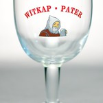 ベルギービール大好き!!【ウィットカップの専用グラス】(管理人所有 )