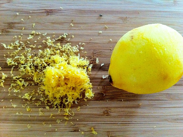 Zest from Lemon